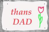 Karty při příležitosti Den otců