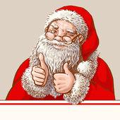 Fotografie Santa showing okey
