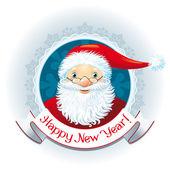 Fotografie Santa Claus retro logo