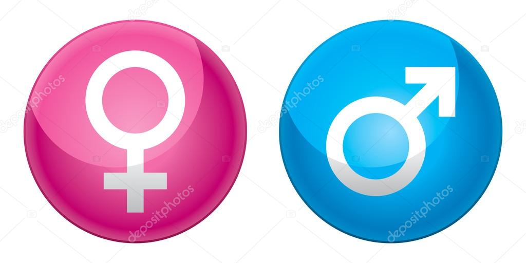 Mars And Venus Symbols Stock Vector J Shoo 59753771
