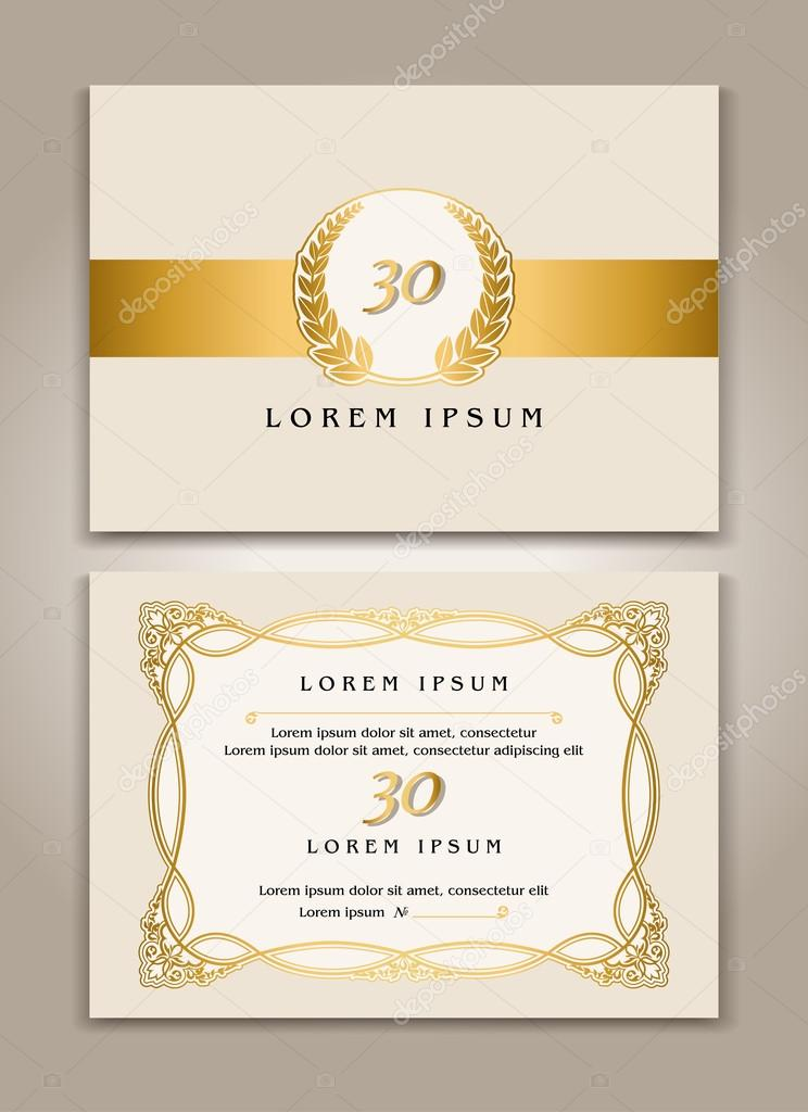 Tarjetas De Invitacion A Eventos Diseño De Plantilla
