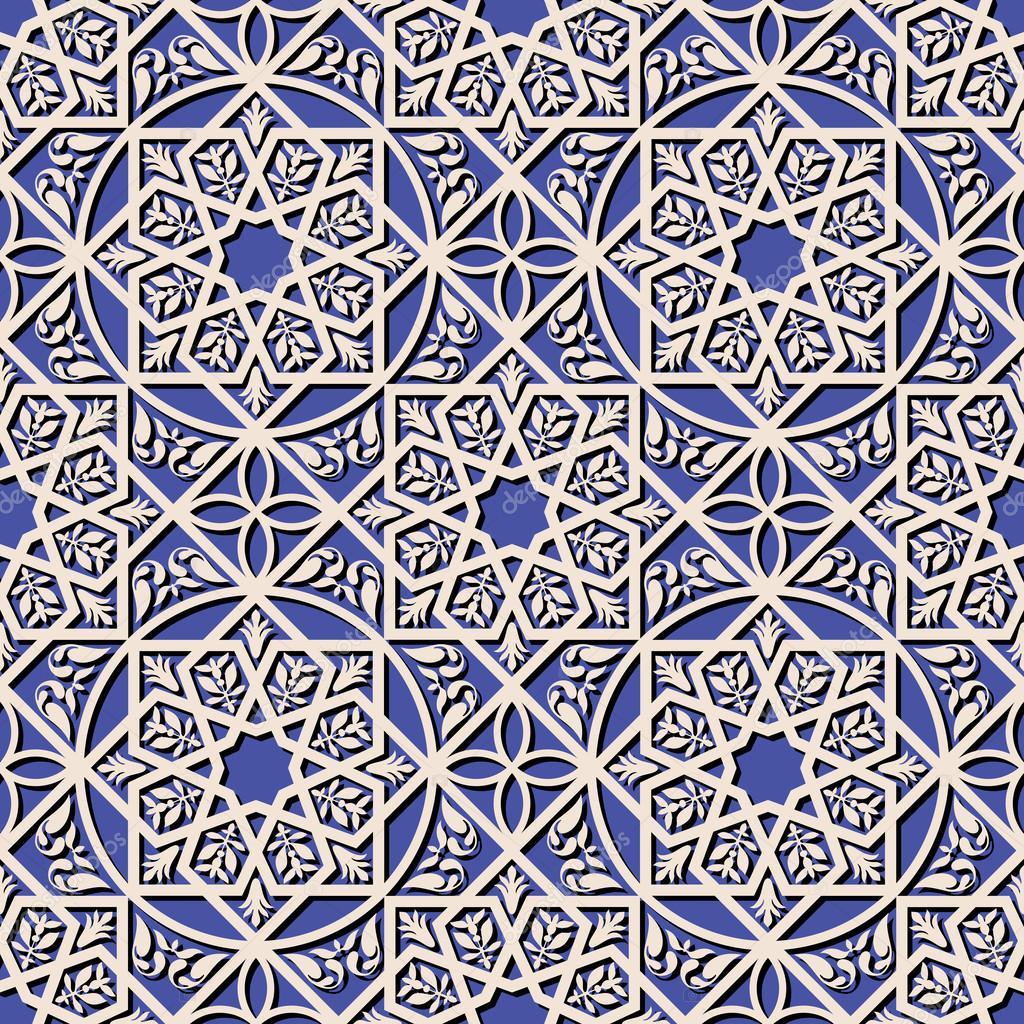 Vintage Arabic And Islamic Background Ethnic Style