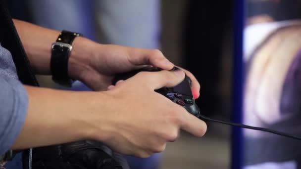 Videó lejátszás game joystick
