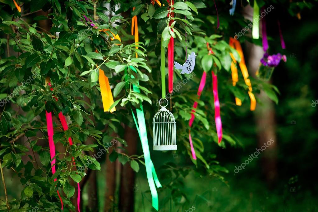 Hochzeit Dekoration Baum Stockfoto C Prescott10 123278680