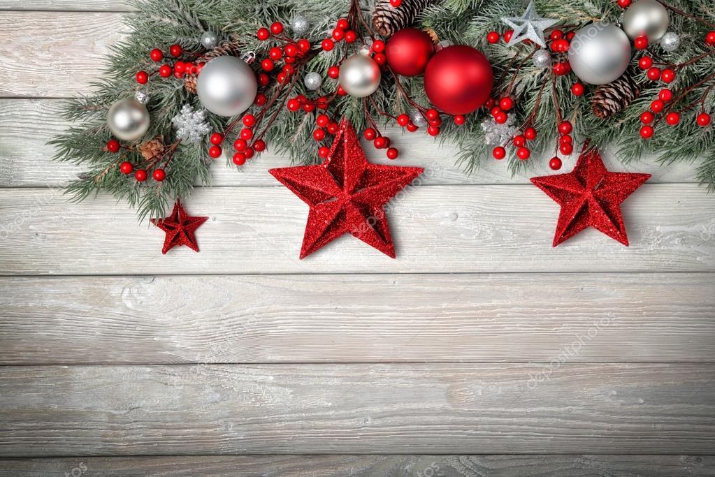 moderne holz hintergrund f r weihnachten stockfoto. Black Bedroom Furniture Sets. Home Design Ideas