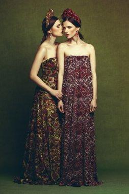 Fashion ethnic girls