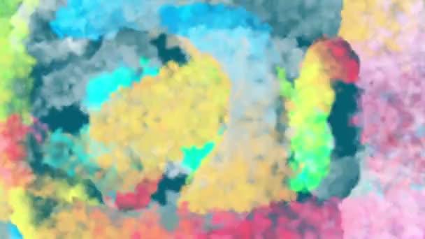 barevné míchání kouře abstraktní barvy, ideální pro pozadí, Novinky otvírák a událost oslava