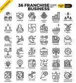Franšízové podnikání ikony
