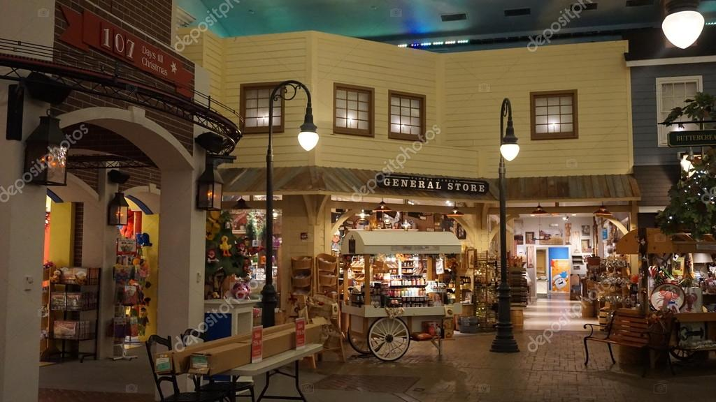 Yankee Candle Village In Williamsburg Virginia Stock