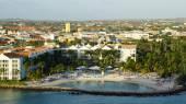 Pohled na Aruba