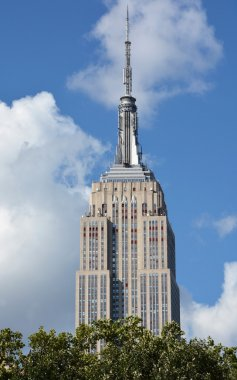 The Empire State Building on August 08, 2013 in New York, USA