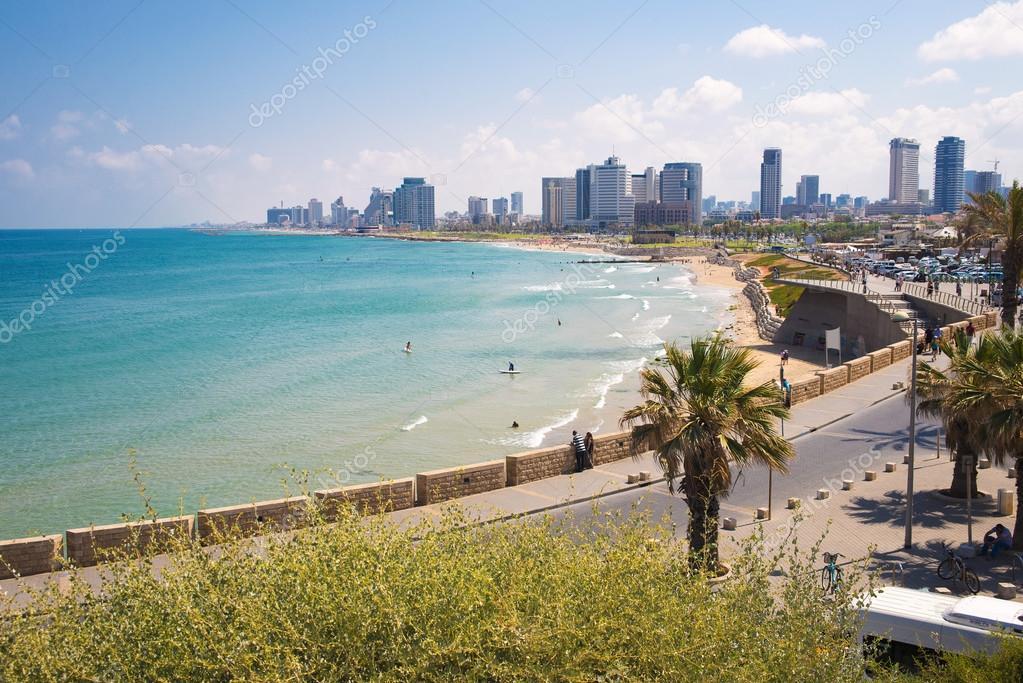 modern district of Tel Aviv