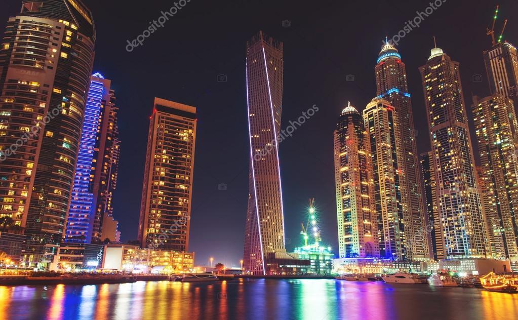 Dubai modern city