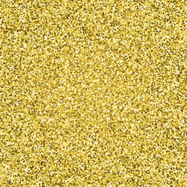 Gold glitter sparkling pattern. Decorative seamless background. Shiny glam abstract texture. Tile sparkle golden confetti backdrop. Luxury wrapping paper texture clip art vector