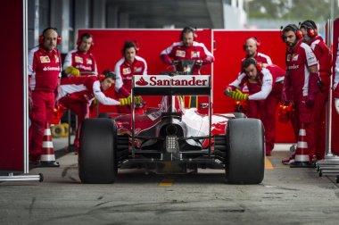 Sebastian Vettel Ferrari 2015