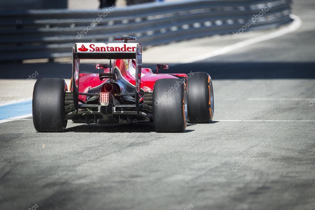 Kimi Raikkonen Ferrari 2015