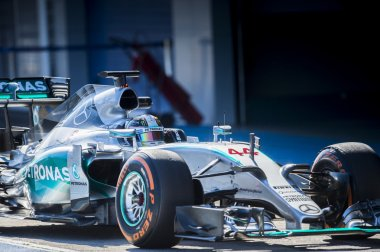 Lewis Hamilton Jerez 2015
