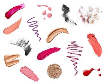 Make up beauty lipstick nail polish liquid powder mascara pencil