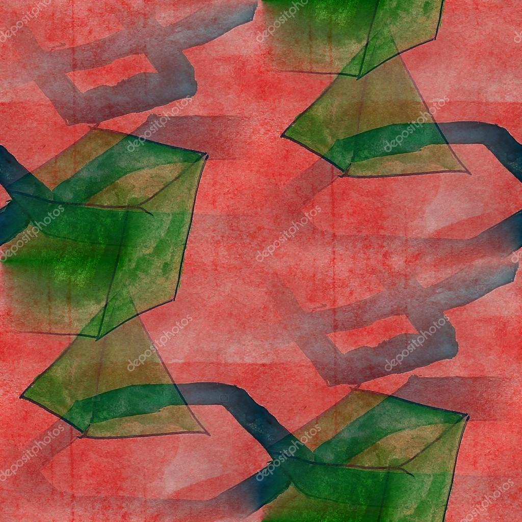 marco oscuro verde, rojo, cuadro azul paleta gráfica transparente st ...