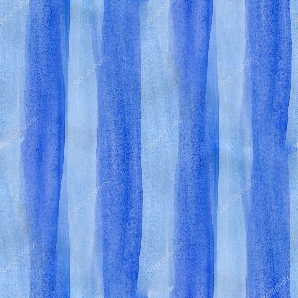 Aquarelle de papier peint rayures bleu abstrait art sans soudure bande —  Image de maxximmm1 55eeef110f7