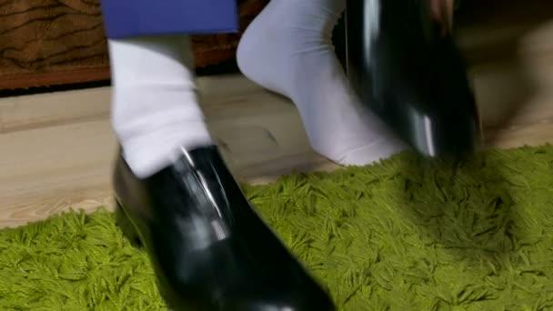 calcetines a los de blancos Vestido hombre zapatos en cordones atar TFlcKJ1