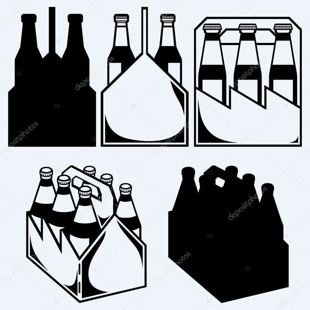 Beer Six Pack In Three Boxes Stock Vector C Kreativ 82926656