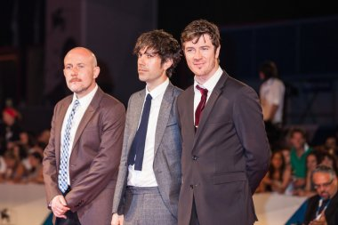 Joseph Bull, Luke Seomore and Barry Ward