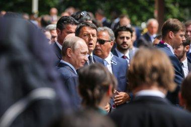 Russian President Vladimir Putin visits Expo