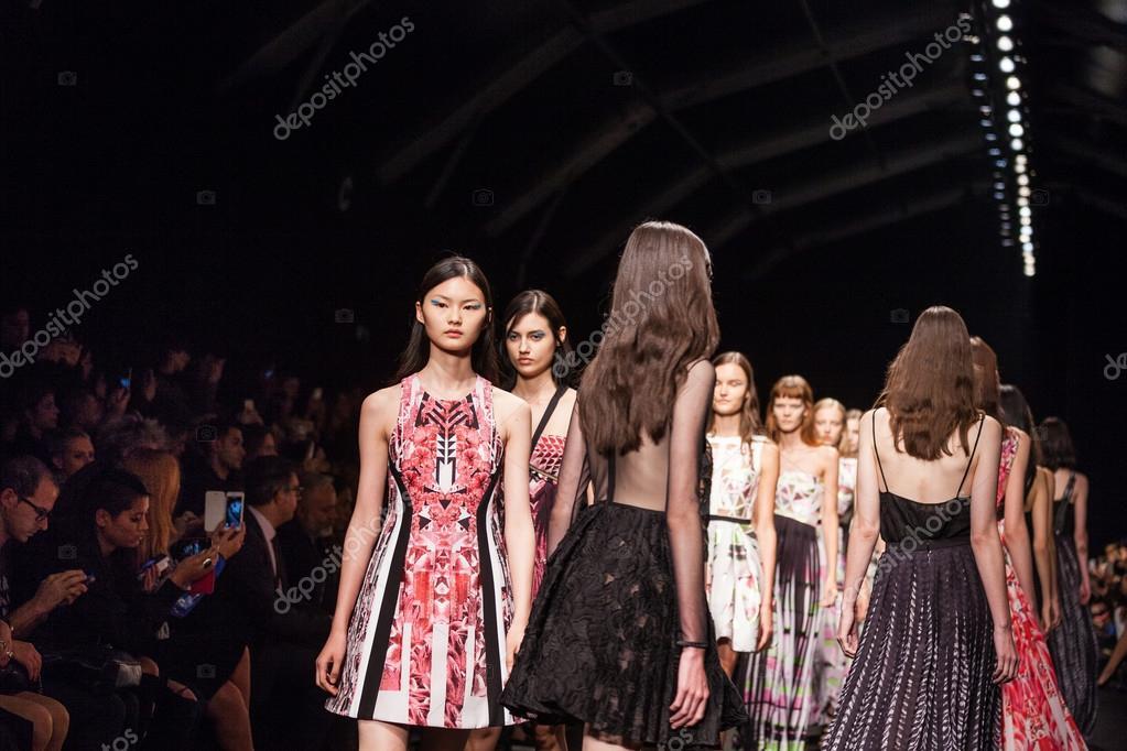 finest selection 3f058 08d00 Byblos Milano fashion show – Stock Editorial Photo © tanka_v ...