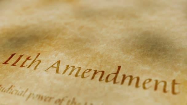 Storico documento emendamento 11