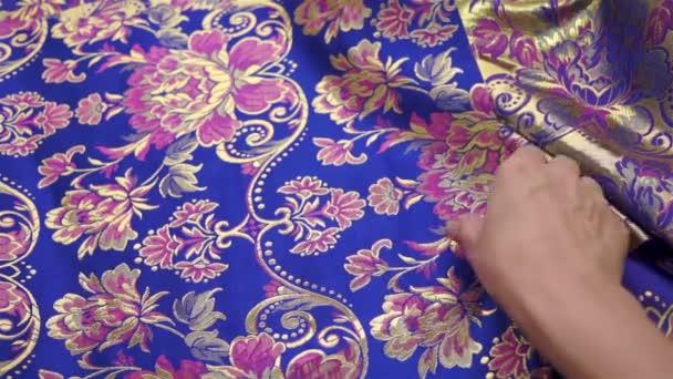 Švadlena kontrolní textilie