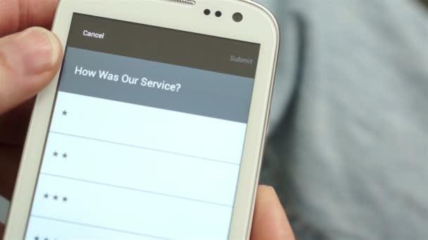 Service Survey on Mobile Phone