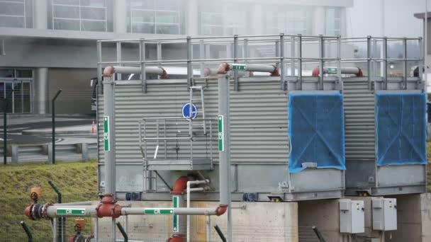 Průmyslové nebo obchodní jednotka Hvac kouřící