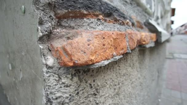 Colonial Building Weathered Bricks Tilt Up