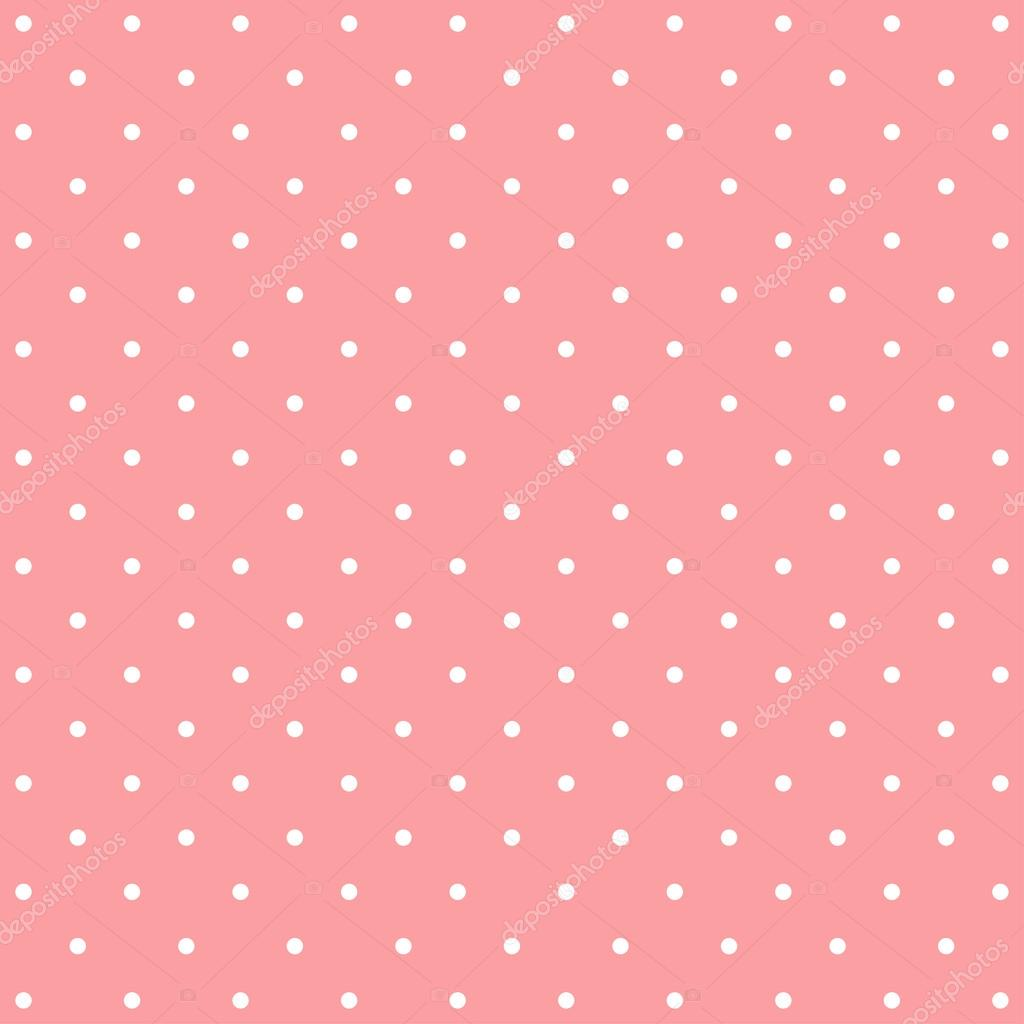 Sfondo Rosa Pois Modello Di Sfondo Rosa Pois Vettoriali Stock