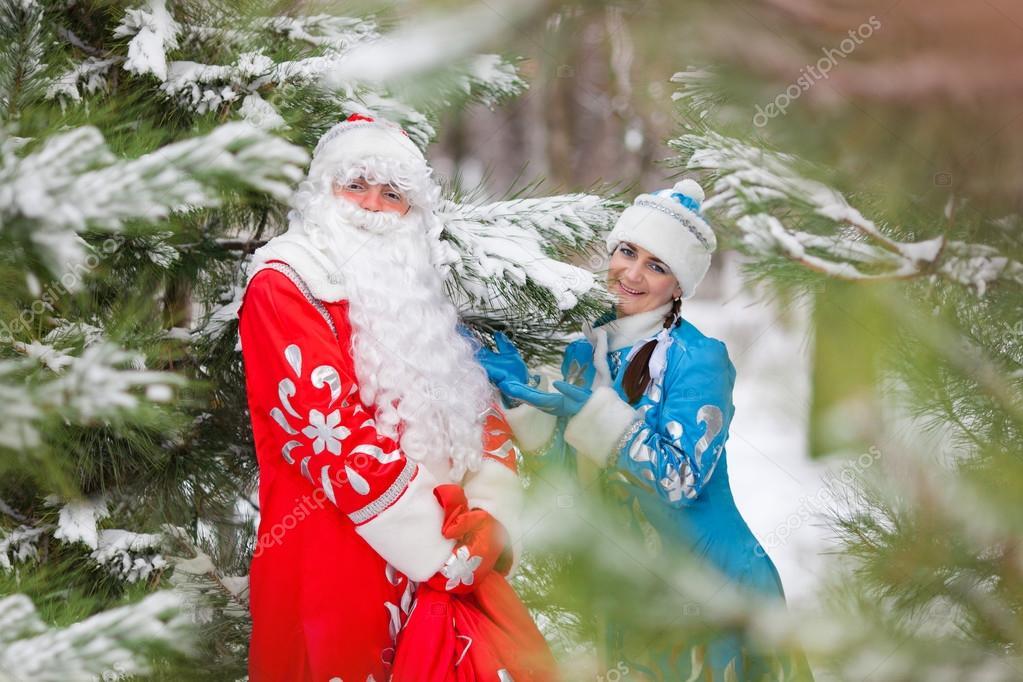Geschenke Russland Weihnachten.Russische Weihnachten Zeichen Ded Moroz Väterchen Frost Und