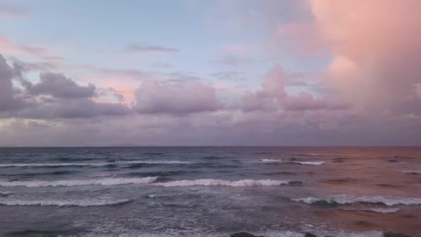 západ slunce mořské vlny