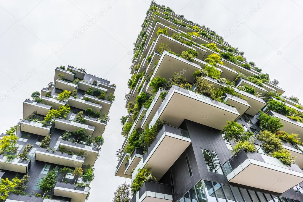 bosco verticale in milan 2015
