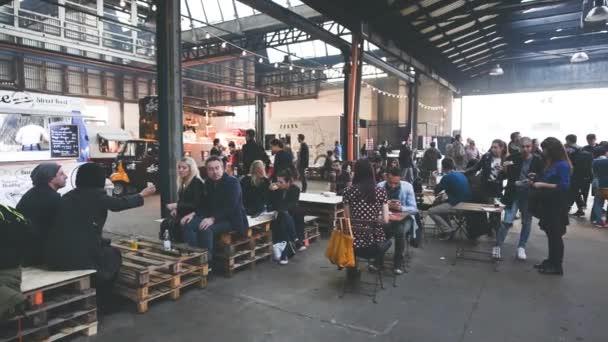 People visiting Eat Market