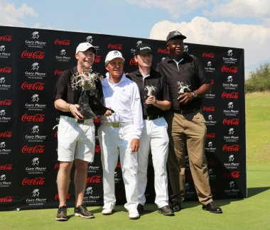Tournament winning team of Gary Player for second year on Novemb
