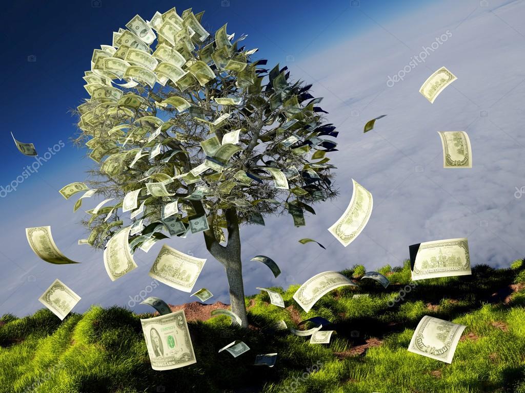 Money Tree 3d Render Stock Photo Image By C Iurii 113351206