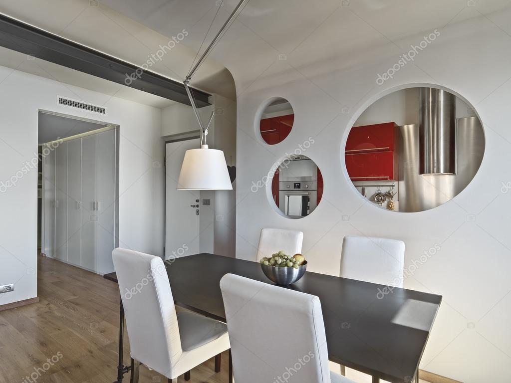 interior de un salón comedor moderno — Fotos de Stock © aaphotograph ...