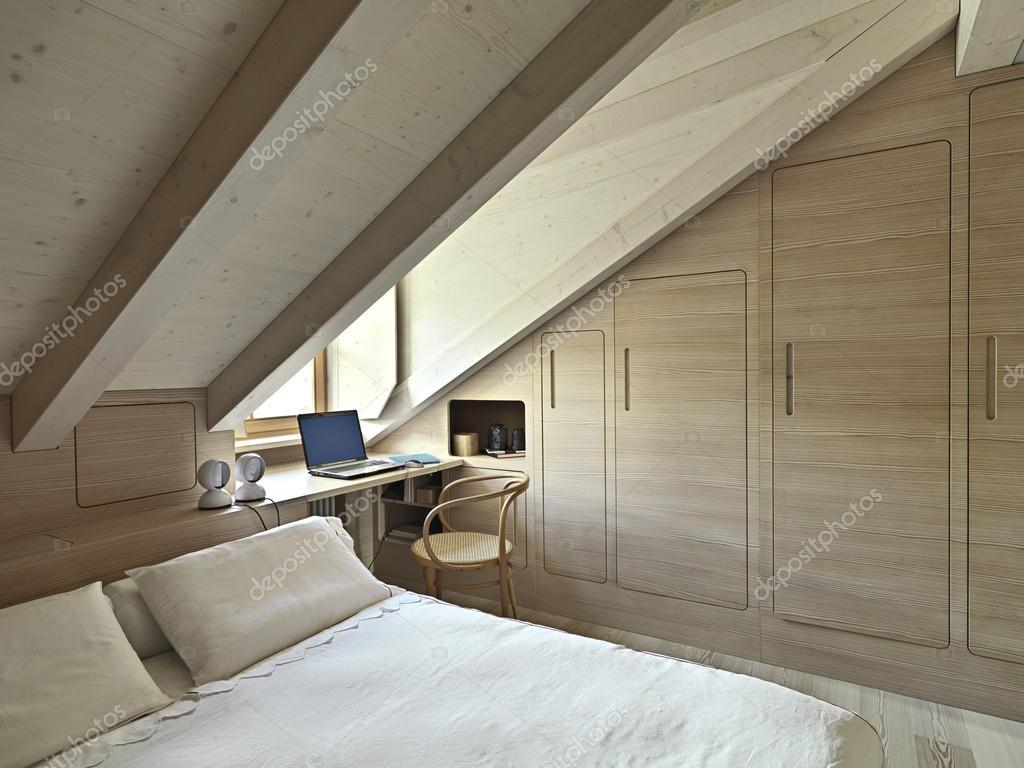 rustieke slaapkamer — Stockfoto © aaphotograph #70170583