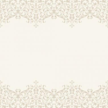 Vector Wedding invitation or greeting card