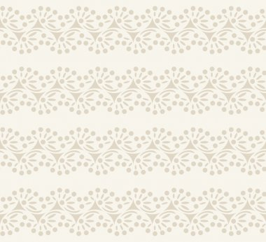 Cute vector straight lace. Seamless lace trims for use with fabric projects, backgrounds or scrap-booking.  Elements can also be used as brushes stock vector