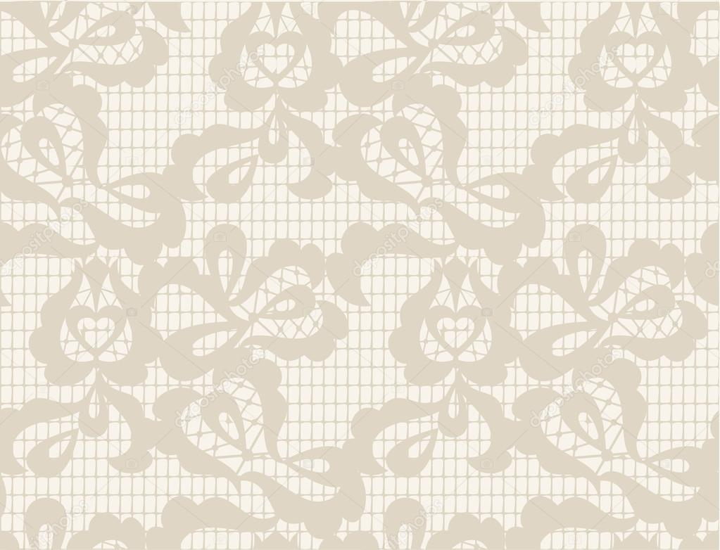 Vector Floral Lace Vintage Rustic Seamless Pattern Background Can Be Used For Wallpaper Fills Web Page Surface Textures By Antuanetto