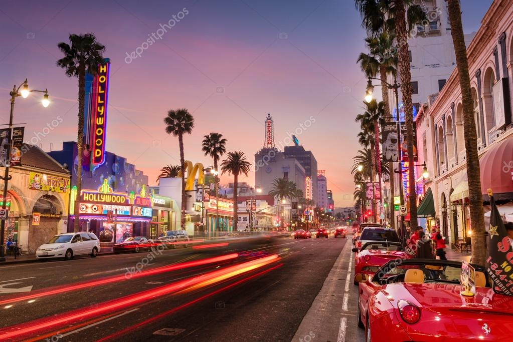 hollywood blvd los angeles stock editorial photo sepavone 104309742