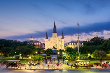 New Orleans at Jackson Square