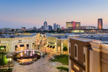 Shreveport Lousiana Cityscape
