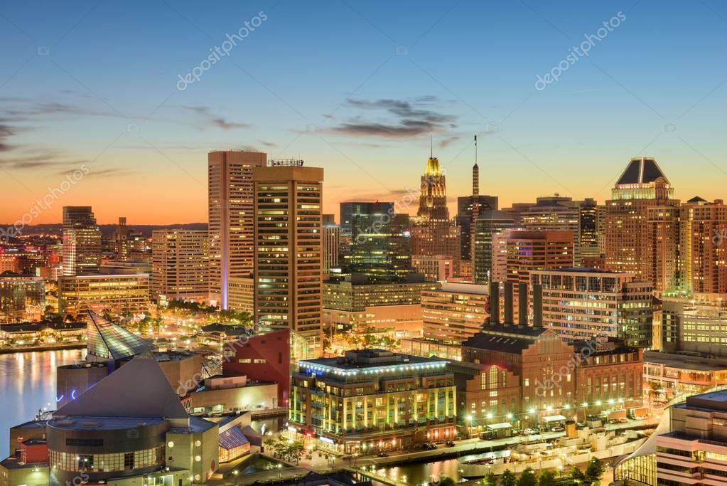 Paisaje Urbano De Baltimore, Maryland